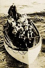 One of Titanic's Lifeboats